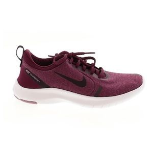 Maroon and Burgundy Nike Shoes
